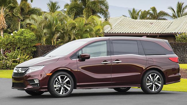 2018 Honda Odyssey: A Quality Car