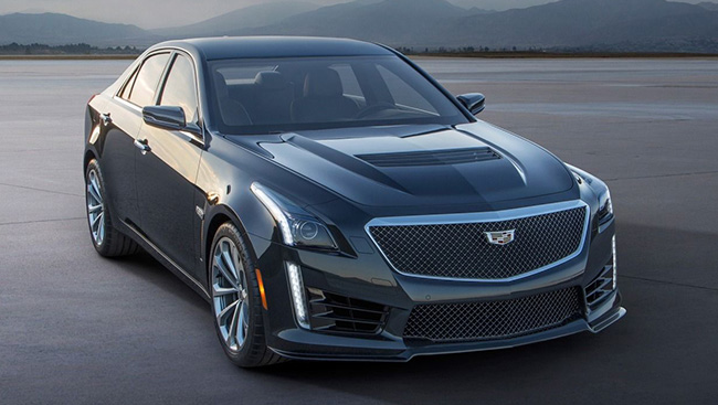 2018 Cadillac CTS-V Sedan: Refined for Greater Performance