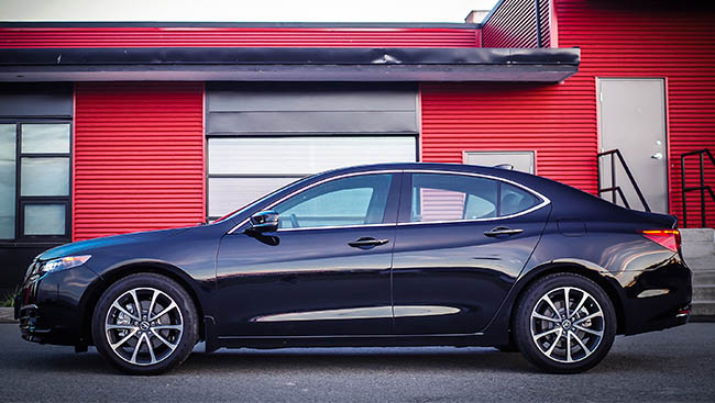 2016 Acura TLX: Some sport, some luxury