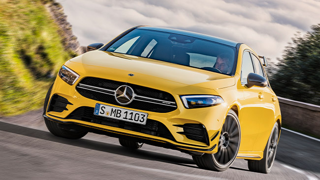 2021 Mercedes-AMG A 35 4MATIC