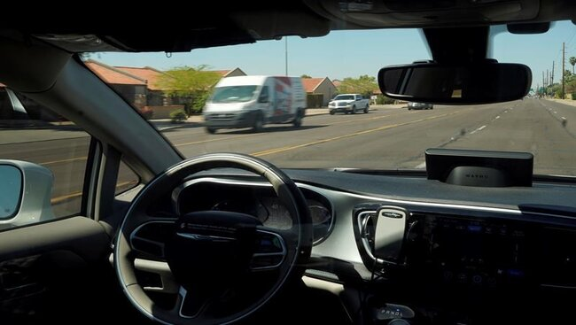 Cool tech, crazy turns: A reporter's take on driverless cars