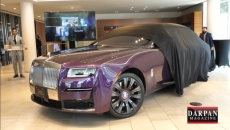 WATCH: The Rolls Royce Ghost was unveiled at the Rolls Royce showroom today and the price tag only 660K