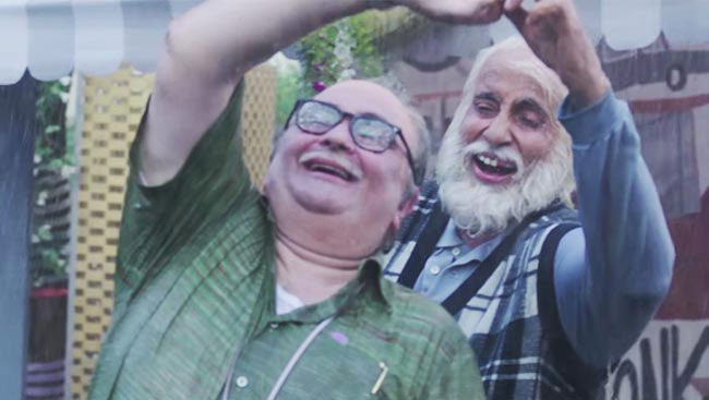WATCH: Big B-Rishi Kapoor's '102 Not Out' Teaser Is Here