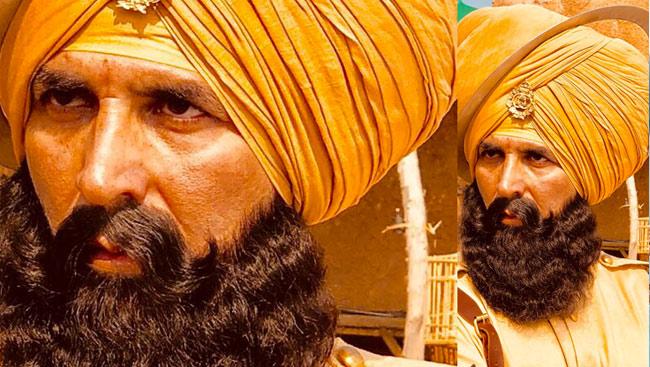 Akshay Kumar Dons A Turban Again, Nails The 'KESARI' Look For His 'most Ambitious Film'