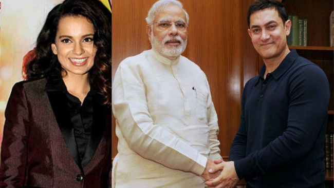 Kangana Ranaut Never Told Me She Is Upset: Aamir Khan
