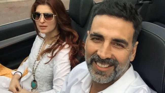 Akshay Shoots Song For Brother-In-Law's 'Blank'