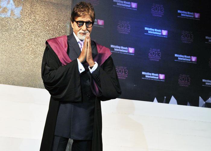 Indisposed Amitabh Cancels Visit To Kolkata International Film Festival Inauguration