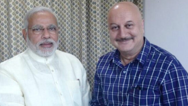 Inspired By Narendra Modi's Workout Video On Twitter, Anupam Kher Calls Him A 'Rockstar'