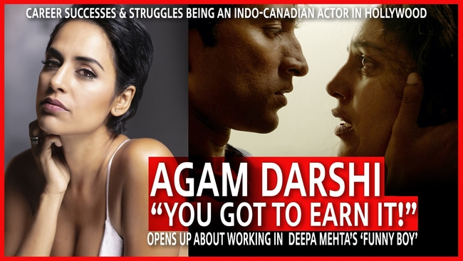 WATCH: Find out more about talented actress Agam Darshi who stars in Deepa Mehta's Funny Boy