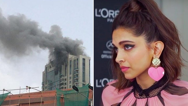 Fire Breaks Out At Deepika Padukone's Building, The Actor Confirms She Is Safe