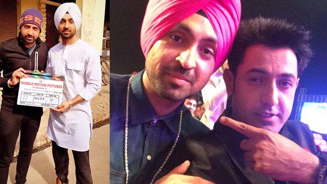 Gippy Grewal Clears The Air On Rumours Of Clash Between Him And Diljit Dosanjh, Here's What He Said