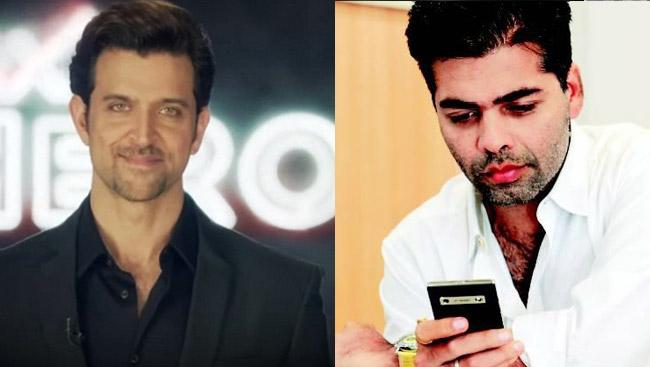 Hrithik Roshan Shares A Selfie, Karan Johar Can't Stop Gushing About 'Those Eyes'. See Pic