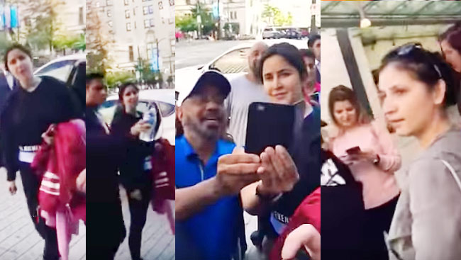 'You Need A Better Attitude' - Fans Misbehave With Katrina Kaif On The Streets Of Vancouver- WATCH