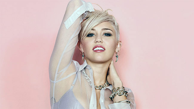 Singer Miley Cyrus Releases 'She is Coming'