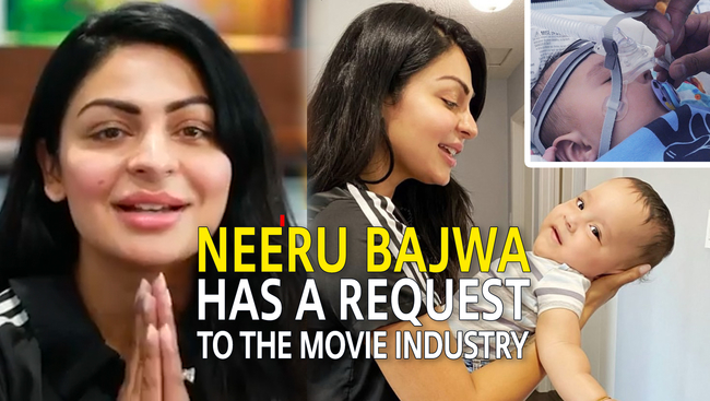 WATCH: Punjabi Superstar Neeru Bajwa Has a Request For You: Help Aryan Fight SMA