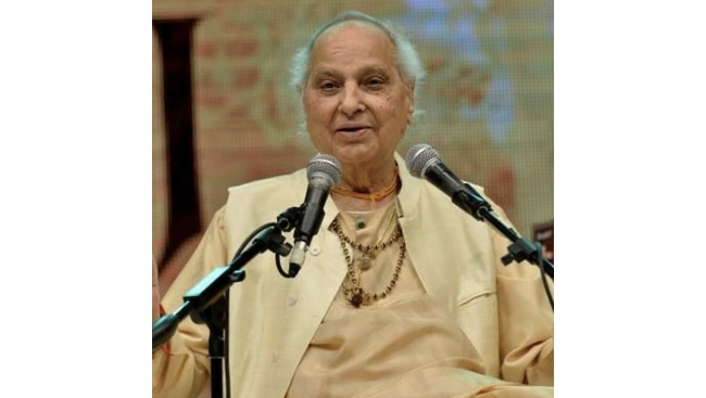 The legendary classical singer Pandit Jasraj no more at 90.