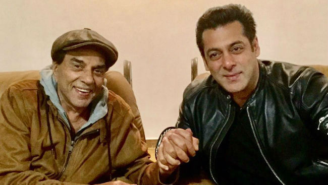 Race 3: Salman Khan And Bobby Deol Get Best Wishes From Dharmendra With These Throwback Pics