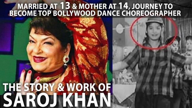 Saroj Khan aka Nirmala Nagpal | The Story of Bollywood's Top Choreographer