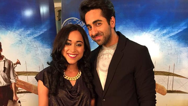 Canadian Songstress Shweta Subram Makes Bollywood Debut with Ayushmann Khurrana in Hawaizaada