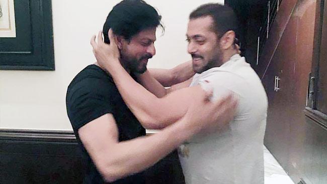 Salman Khan Calls Shah Rukh 'Hero' For Saving Aishwarya's Manager