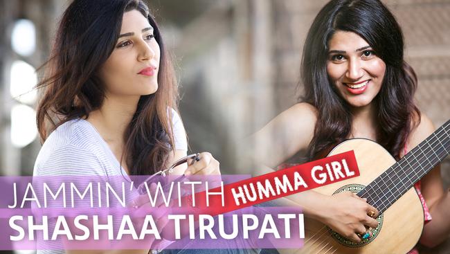 Jamming with Bollywood Playback Singer Shashaa Tirupati