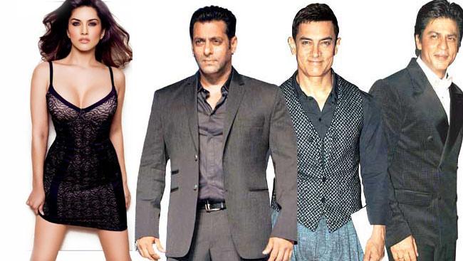 Bollywoods Khans On Sunny Leones Bucket List-7246