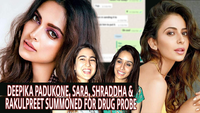WATCH: Bollywood Beauties Under Drugs Probe: Deepika Padukone Summoned After Drug WhatsApp Chats Out