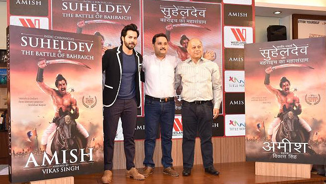 Varun Dhawan Lauds Amish Tripathi For His New Book Suheldev & The Battle Of Bahraich