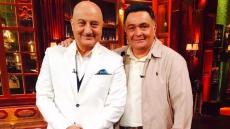 Inside Rishi Kapoor And Neetu Kapoor's 'Beautiful Evening' With Anupam Kher