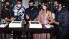 Akshay, Vaani, Lara celebrate 'Bell Bottom' trailer launch in Capital