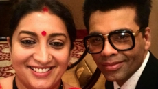 Smriti Irani Blames KJo's Hamper For Her Weight Gain