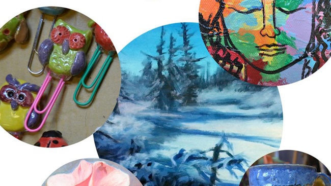 The Art Studios Winter Sale and Silent Auction