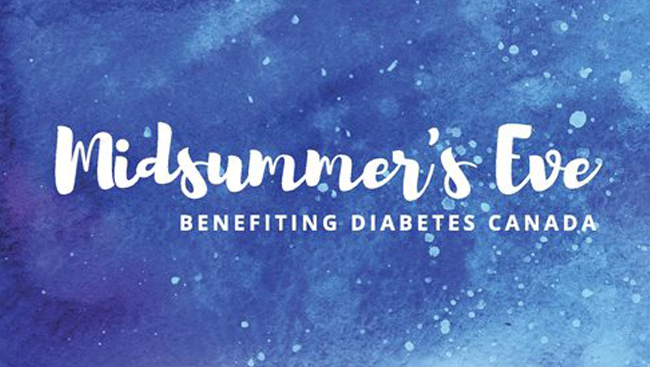 Celebrate summer solstice in support of Diabetes Canada
