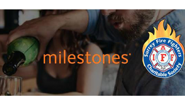 Milestones Guildford Fundraiser for BC Firefighters