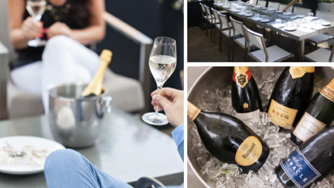 Special Champagne Menu Debuts at Ancora