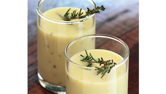 Rosemary and Apple Soup