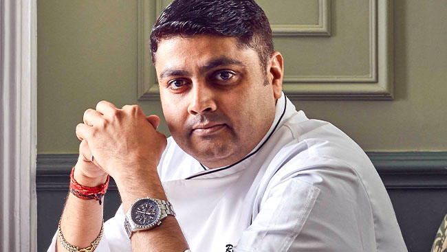Michelin-starred chef Rohit Ghai