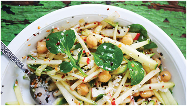 Chef Hari Nayak's Chickpea, Mango and Watercress Salad