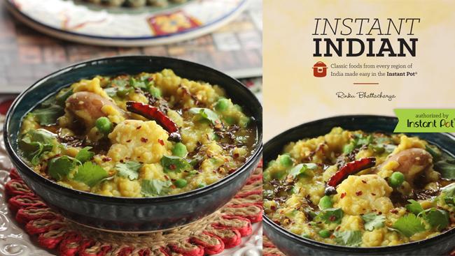 Khichuri - Bengali Red Lentil Risotto