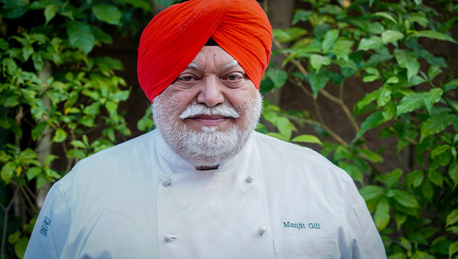 Manjit Singh: Chef par Excellence
