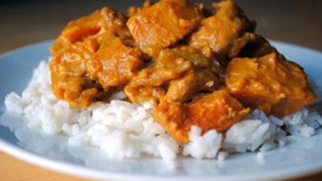 Pumpkin & Cashew Curry