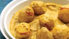 Almond Mint Potatoes