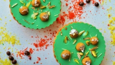 Besan Laddoo-Beetle Extract Chocolate Tart