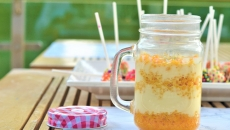 Motichoor Rabri Jar Pudding