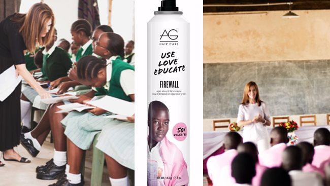 Firewall: Super Hero hair spray gives back