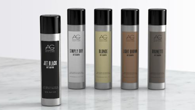 AG HAIR Introduces Jet Black Dry Shampoo
