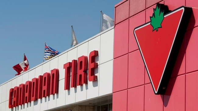 Moncton Canadian Tire displays Christmas products after run on patio furniture