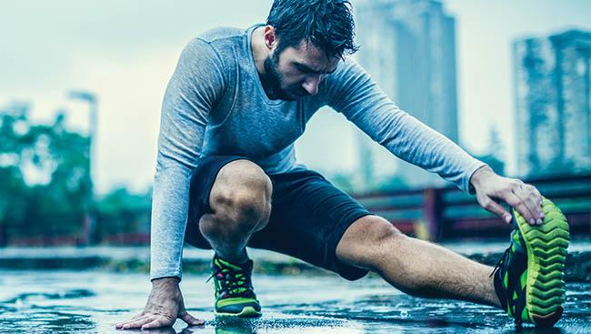 Stay fit come rain or shine