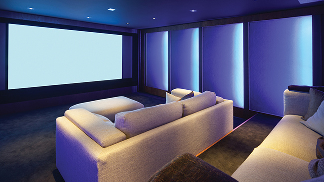 Living Large: Building a home theatre