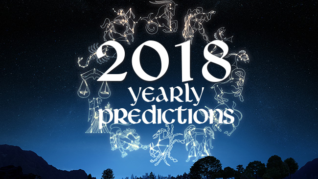 2018 Yearly Predictions